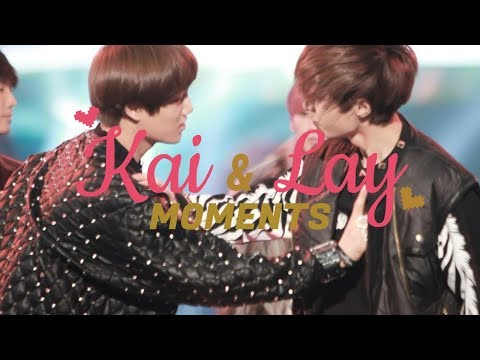 EXO Kai and Lay Moments「 Kaixing 」♡ I Think I'm in Love Again