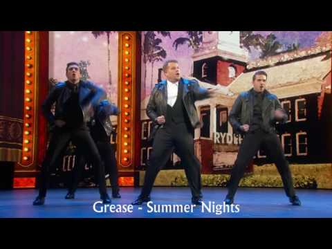 James Corden's 2016 Tony Awards Opening with musical titles