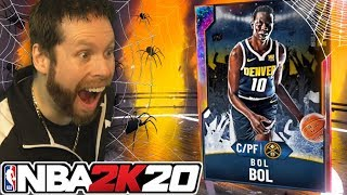 We got a GALAXY OPAL Bol Bol?? WHAT? NBA 2K20