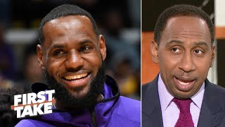LeBron James will win NBA MVP this season - Stephen A. | First Take