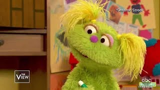 """Sesame Street"" Welcomes New Resident Living in Foster Care 