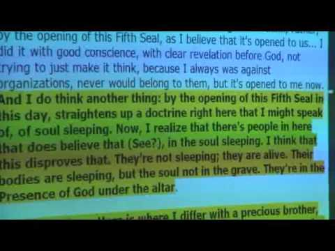 12 1114 A Study on the Book of Revelations Pt 47 Soul The Theophany Pt 2 Samuel Dale