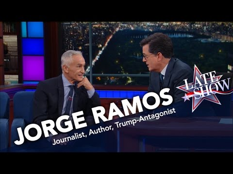 Jorge Ramos Wants You To Know What Makes Trump So Dangerous