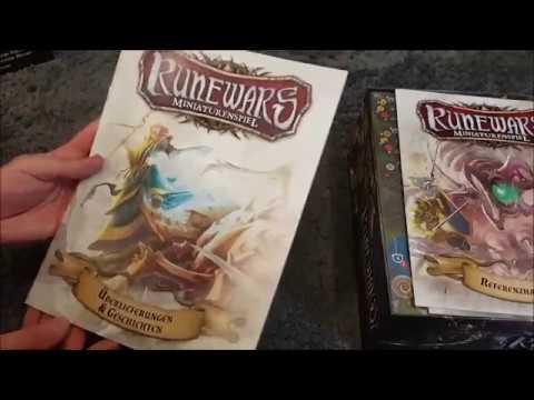 Runewars Miniaturspiel 2017 ★ german HD★  Das detaillierte Unboxing Video