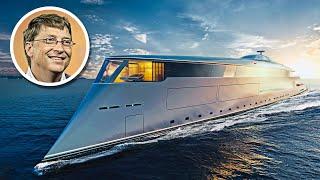 Bill Gates' $644 Million Hydrogen Powered Superyacht