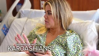 Khloe Kardashian Gives Birth In The Middle Of Tristan Scandal | KUWTK | E!