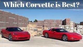 1997 C5 vs C6 Corvette