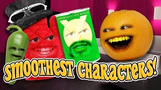 Annoying Orange - Smoothest Characters Supercut!