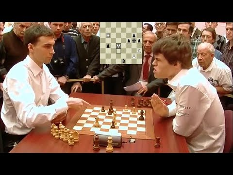 SHOCKING TOUCH MOVE BLUNDER! MAGNUS CARLSEN LOSES TO BORIS SAVCHENKO | WORLD BLITZ CHAMPIONSHIP 2010