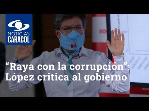 """""""Raya con la corrupción"""": Claudia López critica al gobierno por millonario préstamo a Avianca"""
