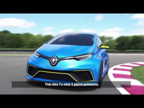 ZOE e-Sport Concept : l'essai de Robert Llewellyn | Renault Sport