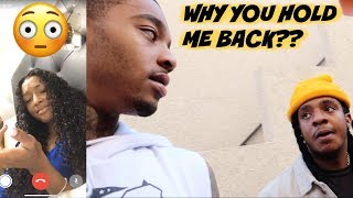 DDG'S COUSIN CALLED PRESSING ME FOR ONLY WANTING HER FOR...(CONFRONTING POUDII ABOUT FIGHT!)