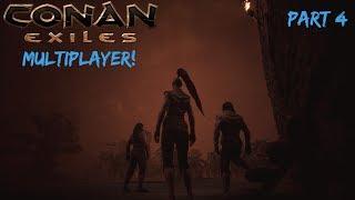 Hot Coop Action! - Conan Exiles MP Part 4