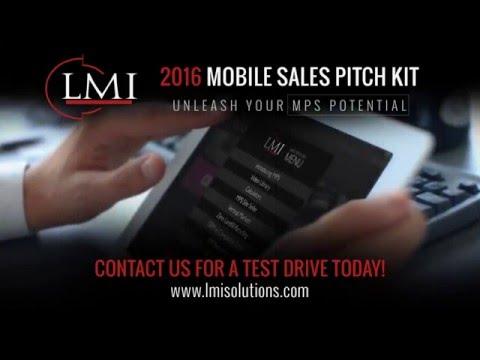 LMI 2016 MPS Mobile Sales Pitch Kit