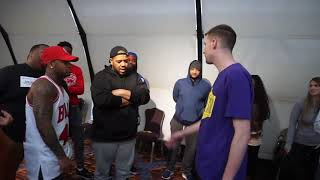 Conceited x Charlie Clips Vs Charron | Rap Battle | Wild N Out