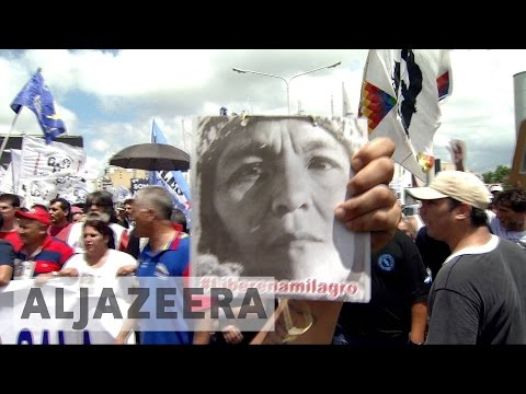 Argentina: Thousands demand release of detained indigenous leader
