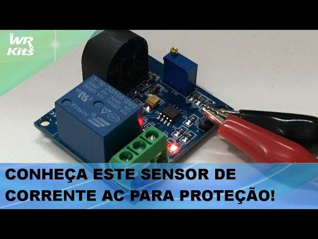 SENSOR DE CORRENTE AC PARA PROTEÇÃO DE SISTEMAS