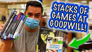 I FOUND VIDEO GAME GOLD AT GOODWILL! (Live Video Game Hunting) || $10 Dollar Collection (Ep:20)