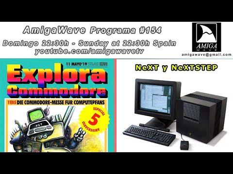 AmigaWave #154 - Entrevista con Explora Commodore y NexT computer con NeXTSTEP