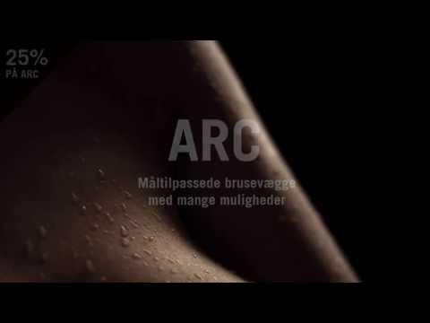 ARC Måltilpassede Brusevægge fra INR