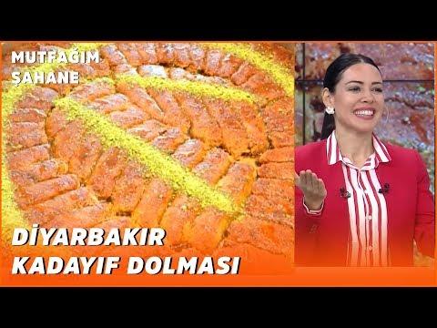 Diyarbakır'a Özgü Kadayıf Dolmasının Yapımı - Mutfağım Şahane - 31 Mart 2020