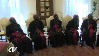Pope to Burundi bishops: Evangelization your first priority