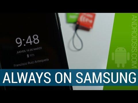 Always On Galaxy S7 Edge para todos