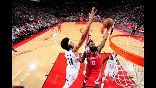 Harden Scores 22 In The Third, Ends Night With 58 Points Against Nets