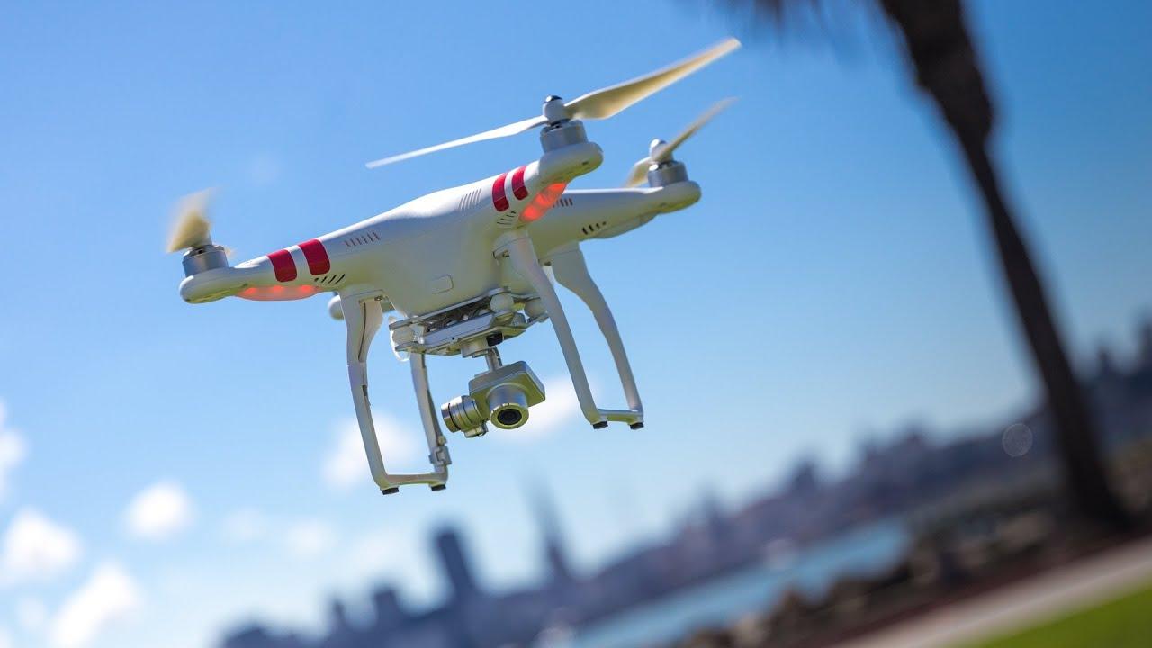 Quadcopter drone Въртолет с четири перки Трейлър