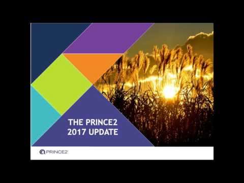PRINCE2 2017 update webinar