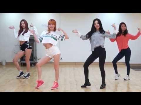 DALSHABET - FRI.SAT.SUN - mirrored dance practice video - 달샤벳 금토일 안무영상