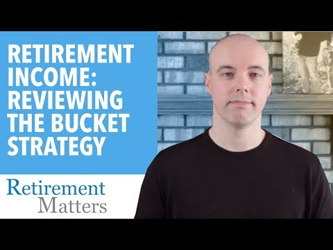 Retirement Income: The Bucket Strategy