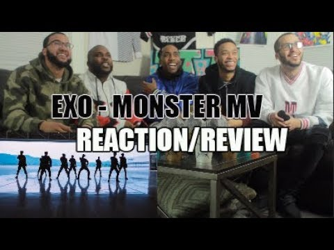 FIRST EXO 엑소 'MONSTER' MV REACTION/REVIEW