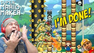 I'M SO F#%KING DONE WITH THESE LEVELS! [SUPER MARIO MAKER] [#45]