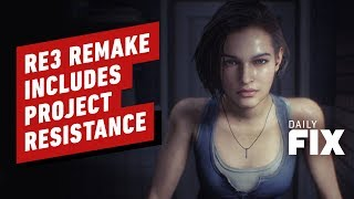 Resident Evil 3 Remake Reveals Project Resistance Multiplayer Mode - IGN Daily Fix