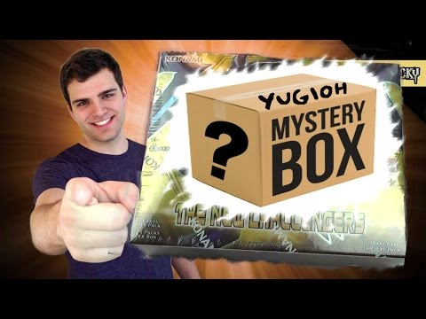 Best Yugioh The New Challenger Lucky Mystery Booster Box Opening! OH BABY!! ..from the abyss