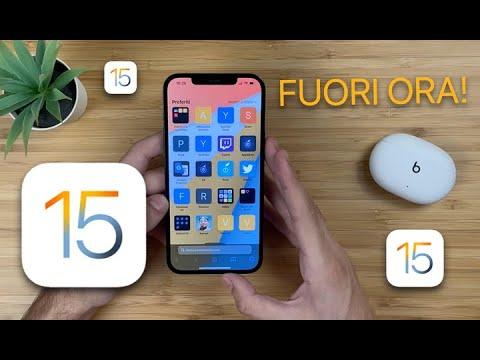 iOS 15 FUORI ORA | NOVITÀ + CONSIGLI