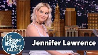 Jennifer Lawrence Told a Press Room Kim Basinger Died
