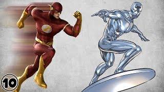 Top 10 Fastest Superheroes