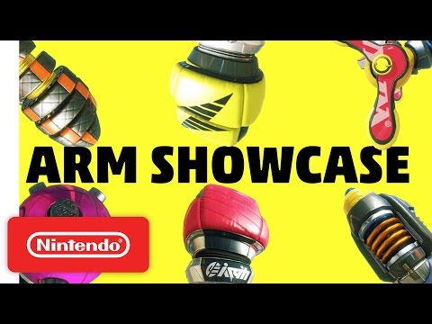 Arms Weapon Showcase - Nintendo Switch
