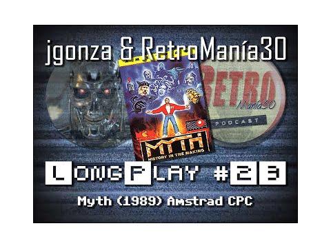 Myth - Amstrad CPC Longplay