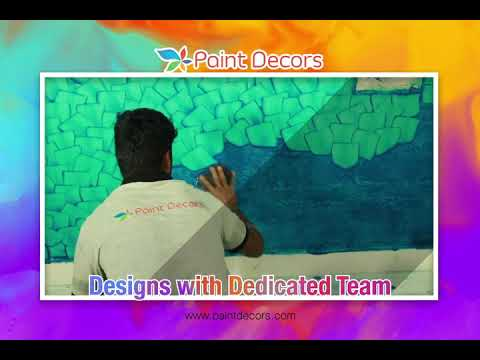 Dedicated Team Wall Designs For Interiors | Paint Decors