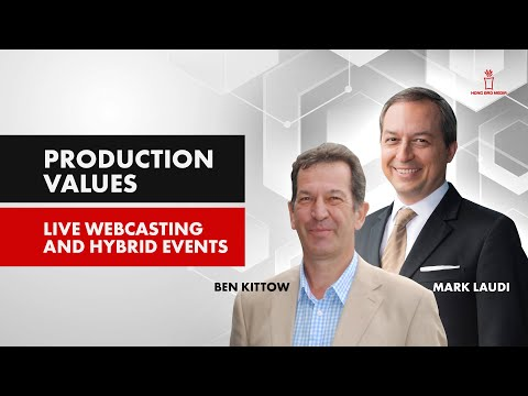 Production Values in Live Webcasting and Hybrid Events in 2021