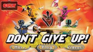 chơi Siêu nhân thần kiếm đi cảnh đánh trùm - cu lỳ chơi game power rangers samurai shinkenger