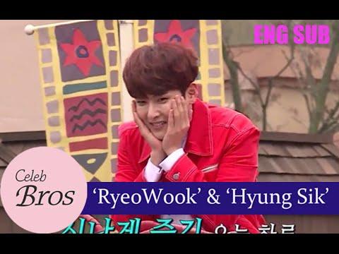 Ryeowook(Super Junior) & Hyungsik(ZE:A), Celeb Bros S3 EP4