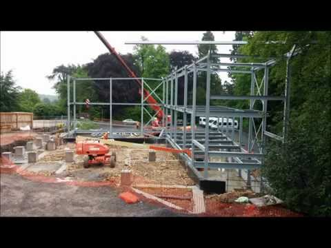 Beaudesert Park School Performing Arts Centre Timelapse www.mebdesign.co.uk