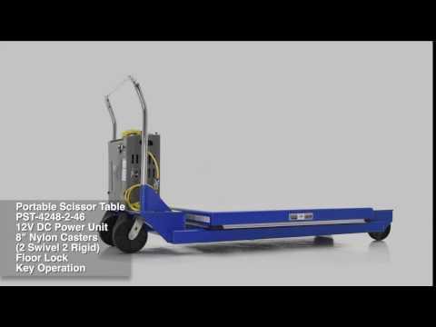 Portable Scissor Table PST-4248-2-46