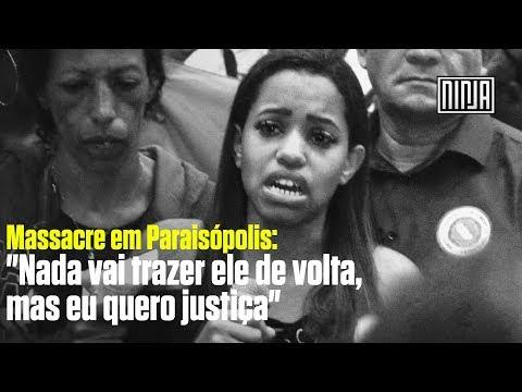 Irmã de vítima de massacre em Paraisópolis se emociona e pede justiça