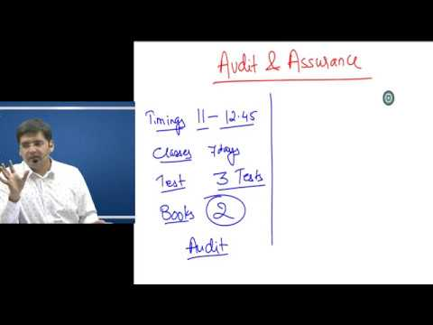 video AUDITING AND ASSURANCE By CA SARTHAK JAIN CA INTER Full Courses