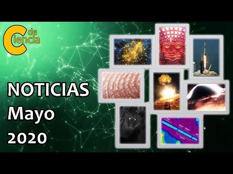 Noticias científicas mayo 2020